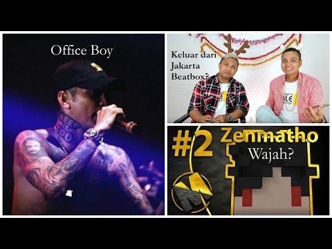 Aa Utap Keluar dari Jakarta Beatbox? Wajah Zenmatho? Video Klip Young Lex Office Boy!