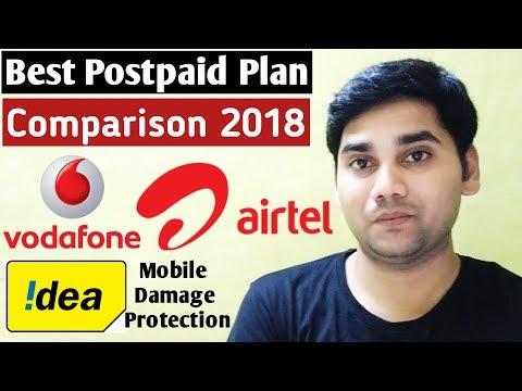 Best Postpaid Plan Comparison | Airtel vs Vodafone vs Idea | Witch One Better