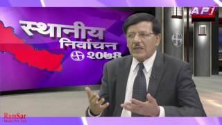 Nil Kantha Uprety on Election Special with Niraj Raj Joshi