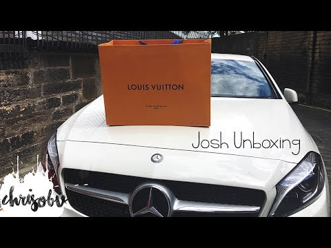 Louis Vuitton // Josh Backpack Unboxing