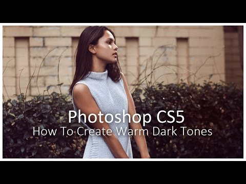 How to Create a Dark Vintage Effect in Photoshop || Fashion Photography Colour Grading Tutorial