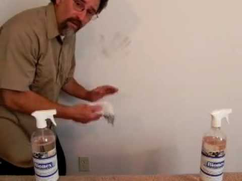 How To Clean Handprints Without Removing Paint Using Bionex.