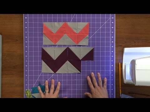 Make Your Own Chevron Print Fabric  |  National Sewing Circle