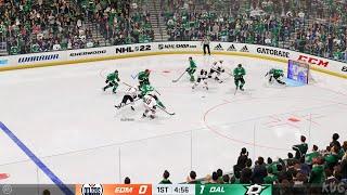 NHL 22 - Edmonton Oilers vs Dallas Stars - Gameplay (PS5 UHD) [4K60FPS]