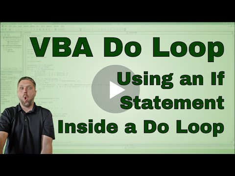 Excel VBA (Macro) Do Loop through a table with an If Statement -Code Included