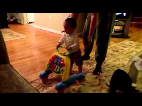 Baby Learn to crawl & walk