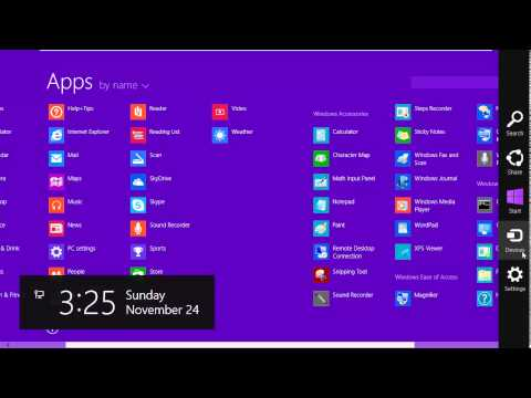 How To Show Administrative Tools in Windows 8.1 [HD]