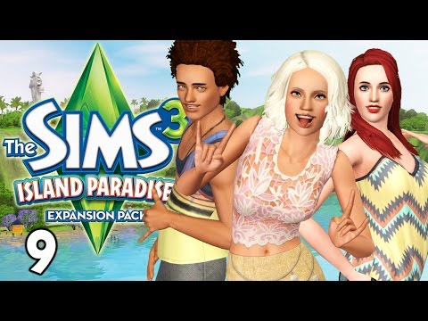 Let's Play The Sims 3 Island Paradise - Ep. 9 - Mermaids' Secret Island!