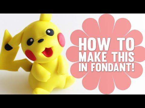 How to make Pikachu - Pokemon Cake Decorating Tutorial