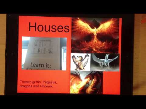 School Prospectus using Book Creator app