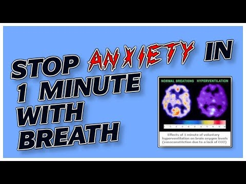How to Get Rid of Anxiety Naturally in 1 Min: Easy Breathing Exercise