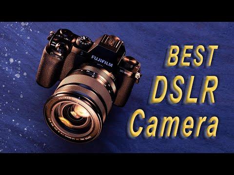 Top 5 Best DSLR Cameras 2018