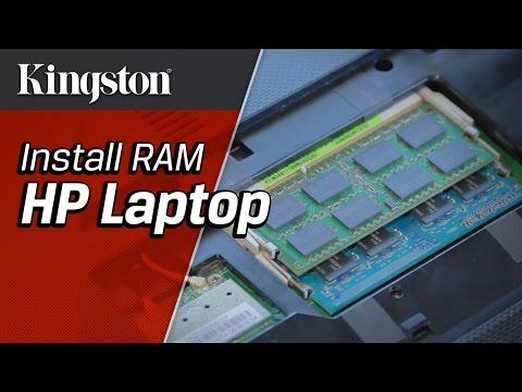 Install RAM in a HP Laptop - Kingston Technology