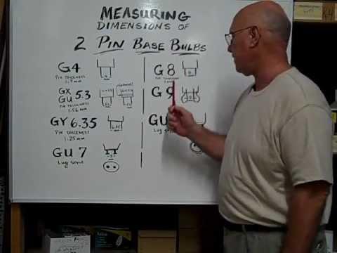 G9 Pin Base Bulb Identification