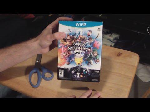 Super Smash Bros. Wii U Bundle Unboxing