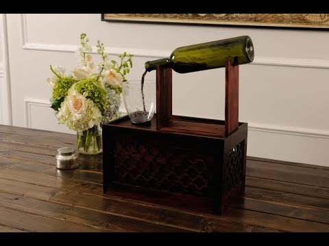 How to Make a Wine Fountain