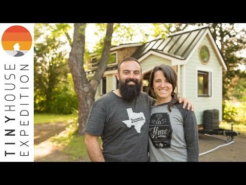 Most Adorable DIY Tiny House & Couple EVER