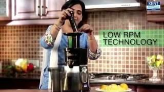Cold Pressed Juicer: Fruit & Vegetable Juicer Machine | Kent Demo Video