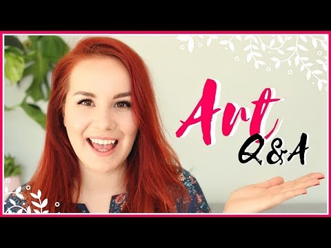 Art Q&A   Scared of Failure, How to Find Inspiration, Motivation & Getting Rid of Self-doubt!