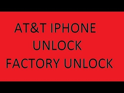 How to FACTORY UNLOCK YOUR AT&T IPHONE 3G, 3GS, 4, 4S and 5 with 6.0 IOS less than$10