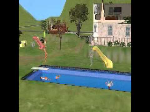 sims diving tricks!!!!!!