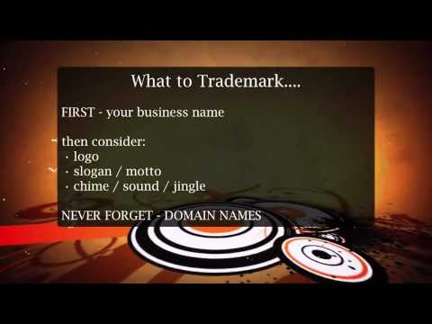 Trademarks - 1 Why and What