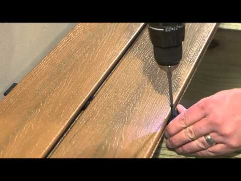 How to Install T-Clips on UltraDeck
