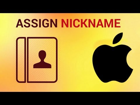How to assign a nickname to your contact on iPhone and iPad