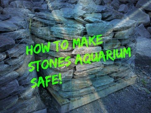 How To Make Rocks Aquarium Safe   Step By Step Tutorial