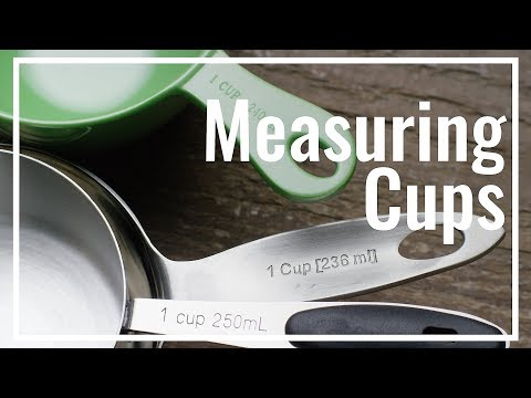 All About Measuring Cups || Le Gourmet TV Recipes