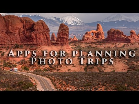 Best Apps for planning Photo Trips