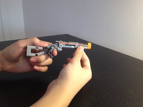 Mini Lego Pump-Action Shotgun Tutorial