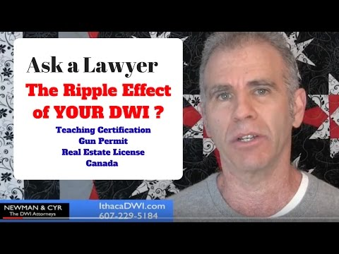 The Ripple Effect from New York DWI on Gun Permits and Licenses