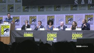 Peter and Steven Welcome Jodie | SDCC 2017 | BBC America