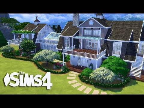 The Sims 4 - Beach Side  Mansion 1/2(House Build)