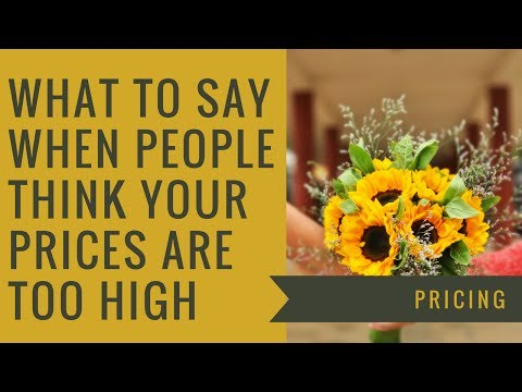 What to say When People Think your Farm Product Prices are too High