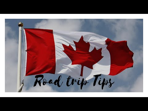 Crossing the US - Canadian Border ||Things to Know before driving into Canada