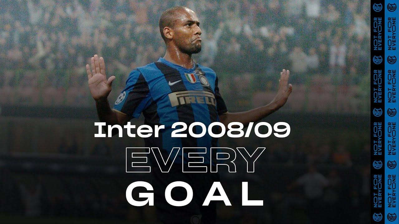 EVERY GOAL! | INTER 2008/09 | Ibrahimovic, Balotelli, Maicon, Adriano, Figo and many more... ⚽⚫🔵