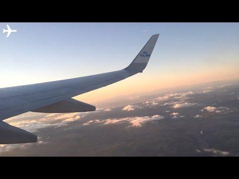 Full Flight - KLM Boeing 737-700 onboard Manchester - Amsterdam KL1072 - April 2016