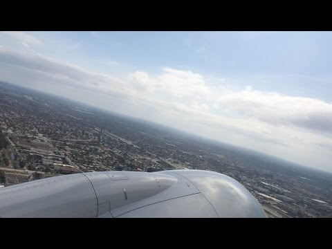 Flying - Take Off From Miami International Airport (Florida, U.S.A.) On American Airlines