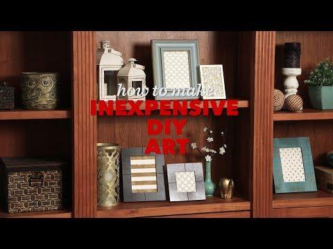 How to Make Inexpensive DIY Art