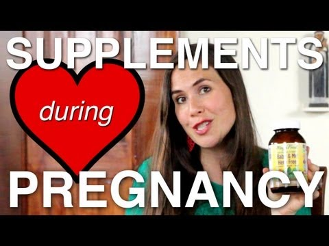 What Supplements I Take During Pregnancy
