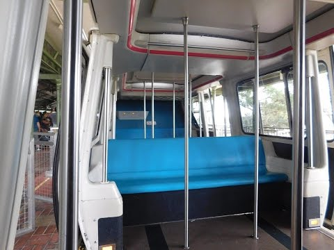 Walt Disney World Epcot Monorail FULL LOOP January 2017