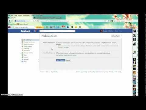 How to Post to Facebook Page as YOURSELF