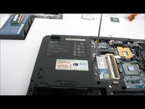 Acer Aspire 5680 노트북 분해(Laptop disassembly)