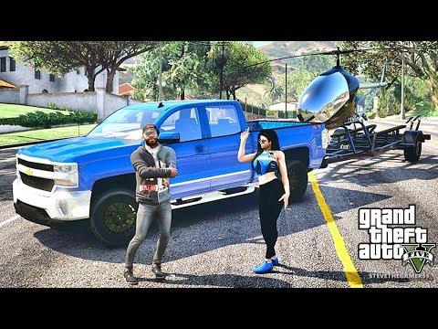 GTA 5 REAL LIFE MOD #298 (GTA 5 REAL LIFE MODS) HAULING HELICOPTER