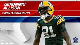 Geronimo Allison Explodes for 122 Yards!💥 | Bengals vs. Packers | Wk 3 Player Highlights