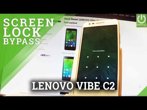 How to Unlock LENOVO Vibe C2 - Hard Reset / Format / Restore