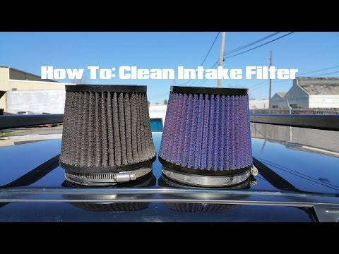 How To Clean Intake Air Filter