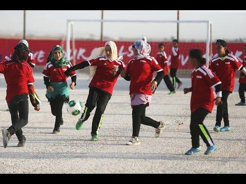 The power of football, in Jordan